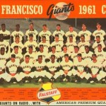 A similar Falstaff/Giants card from 1961