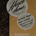 Seagram's booklet, 1941