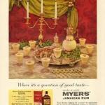 Myers's, 1956