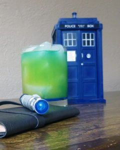 10th Doctor cocktail, photo by Brian Petro