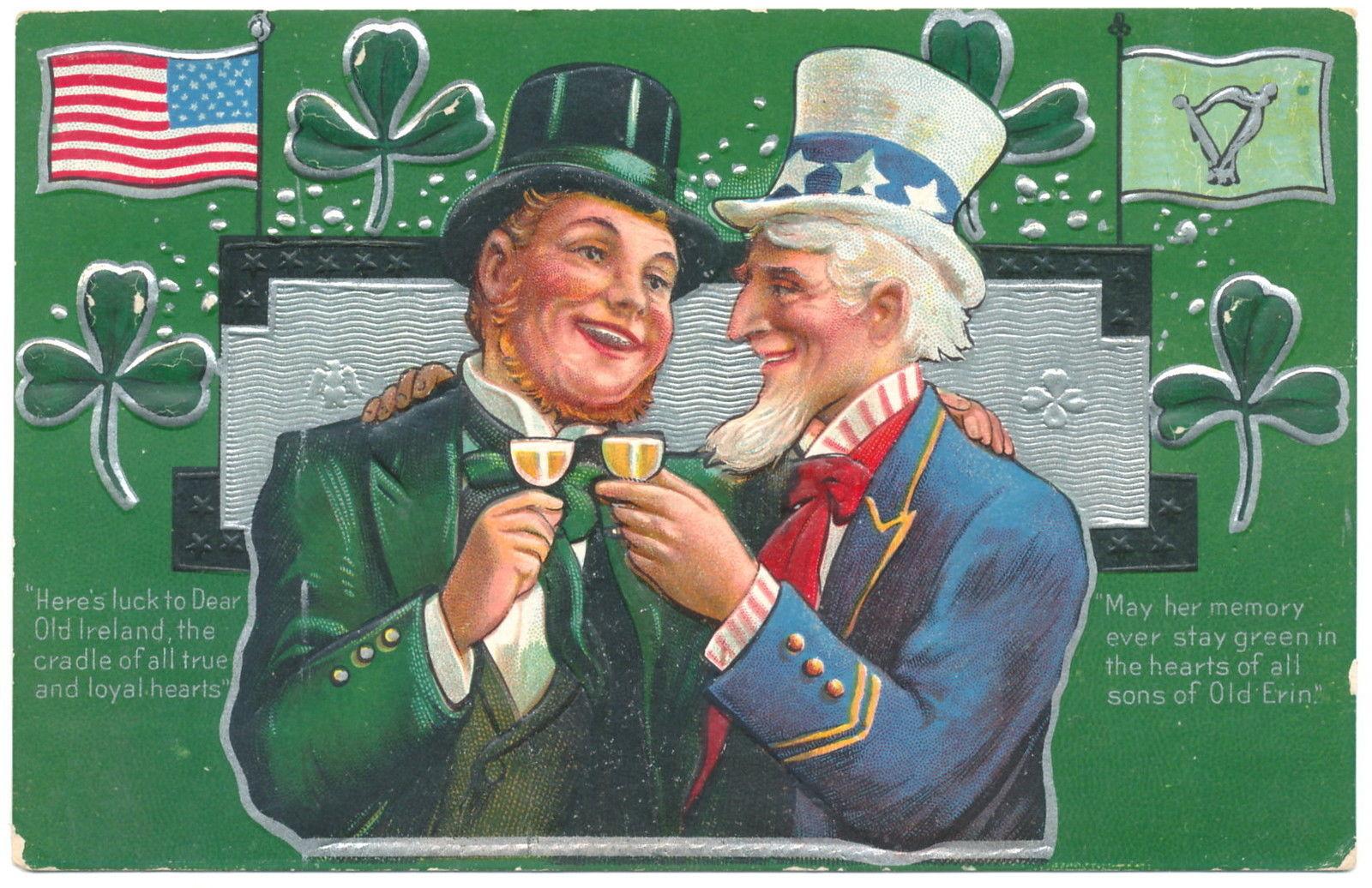 Vintage Ad Archive A St Patrick S Day Celebration Alcohol Professor