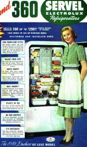 Servel Refrigerator, 1940