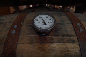 monitoring the barrel temperature at BT