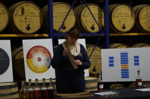 Andrea Wilson of Michter's, photo via Maggie Kimberl