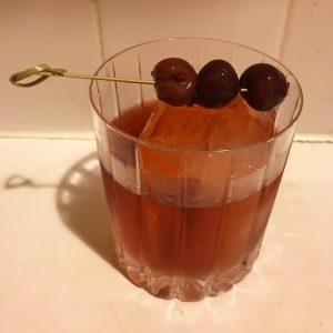 Cherry Negroni, photo by Amanda Schuster