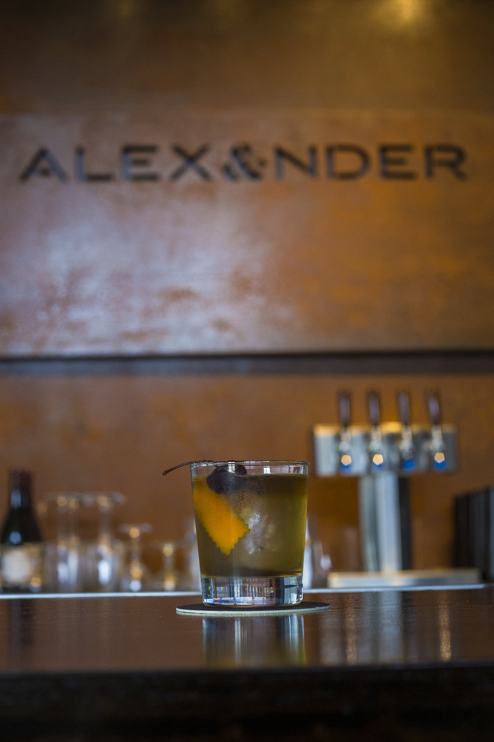 Old Fashioned, photo by Ron Jasin for Copper & Kings