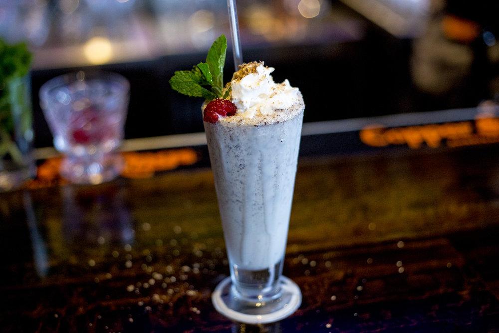 Boozy Milkshake, photo by Ron Jasin for Copper & Kings