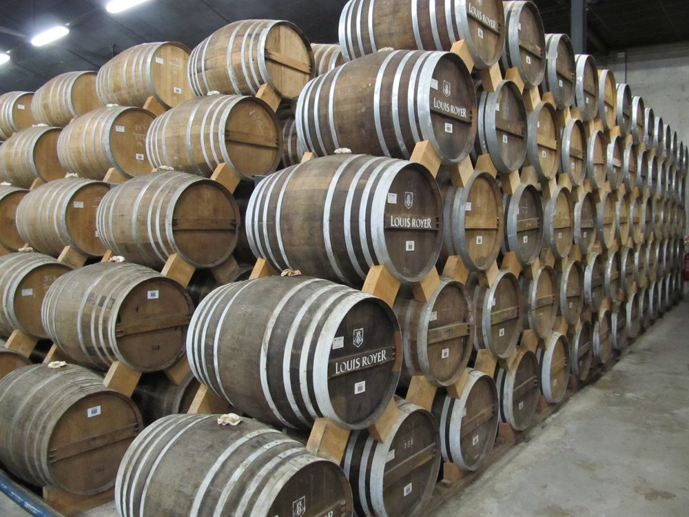 Louis-Royer-Distillery-cognac-barrels-by-Mike-Gerrard.jpg