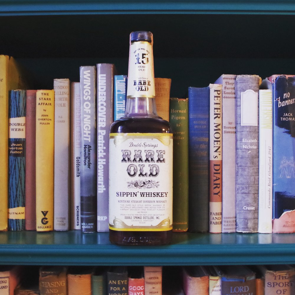 Rare bourbon on display at Michael Veach's salon series, Oxmoor Farm