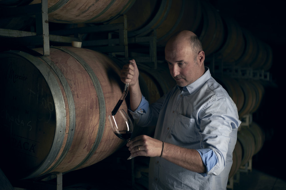 Winemaker Sebastian Ruiz, courtesy Viña Tarapacá
