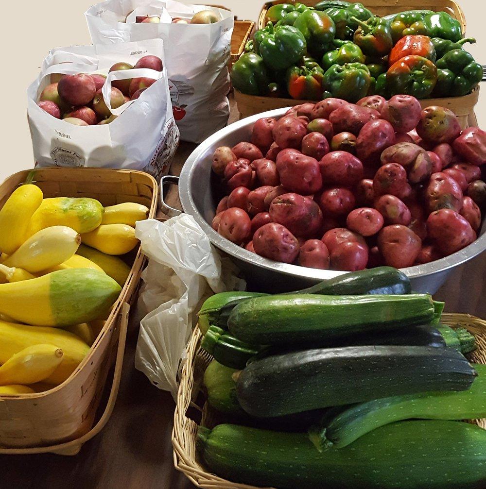 Good, fresh, nutritious food...