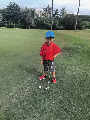 The Juniors Play Free-Bring the Ohana Program is offered daily through Aug. 31 at Ka'anapali Golf Courses.