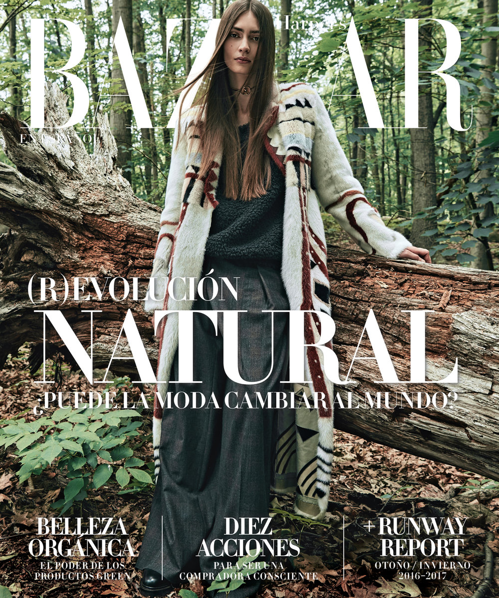 Harper's Bazaar Cover ( Spanish )  September 2016
