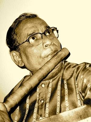 Eric Fraser's guru (teacher),  Pandit Gopal Roy