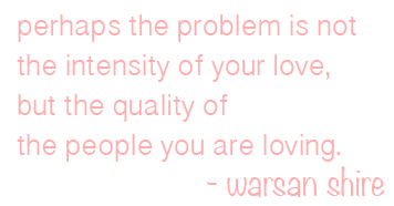 warsan shire quote