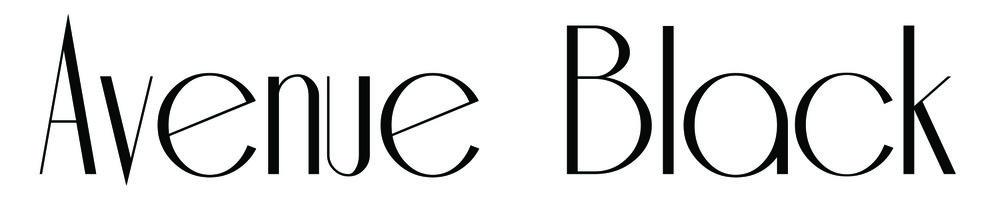 Avenue Black Logo