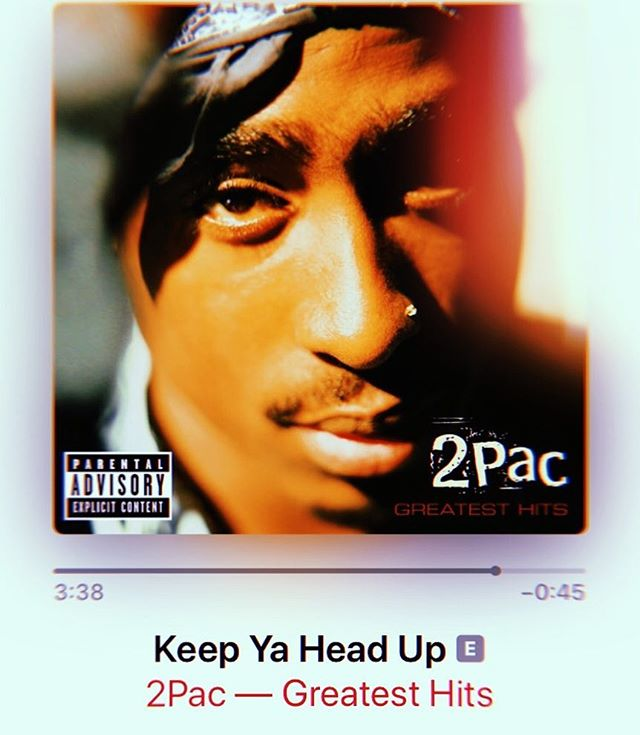 #mood-zik — some days just gotta start with listening to tupac 🖤... what songs are you feeling this morning?