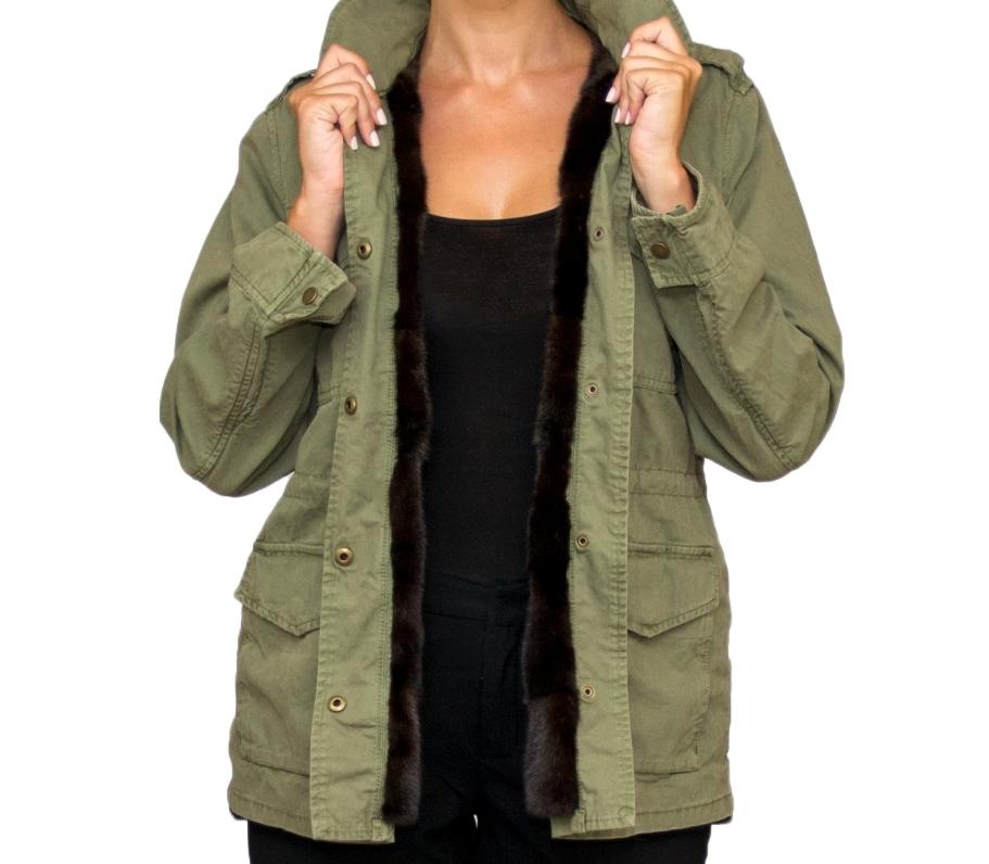 Laila Army Jacket w Mink Interior- Full 2.jpg