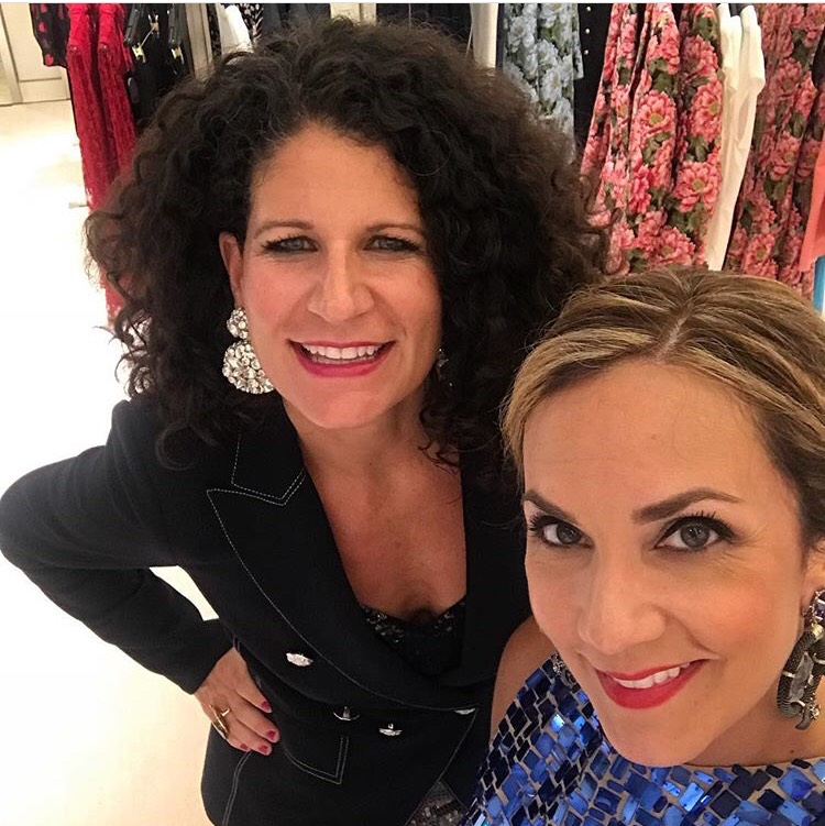 TV Media Personality Courtney Zavala and I had a blast chatting fall 2018 colors + trends