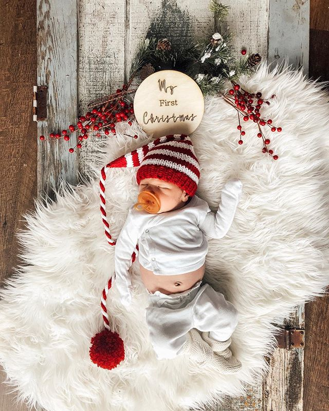 Sonny's first Christmas was filled with lots of snuggles, just as it should be ✨ #sonnywagamon #firstchristmas