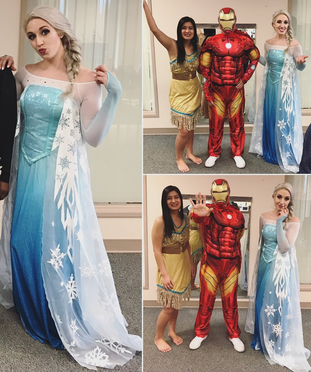 birthday party iron man pocahontas elsa.jpg
