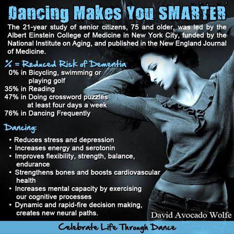 Benefits of Dance... - How Dancing is DIFFERENT then any other sport!