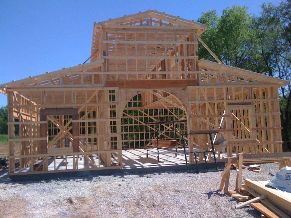 Building winery wood framing.JPG