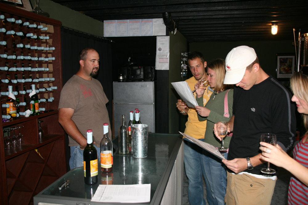 Tasting Room in basement.JPG