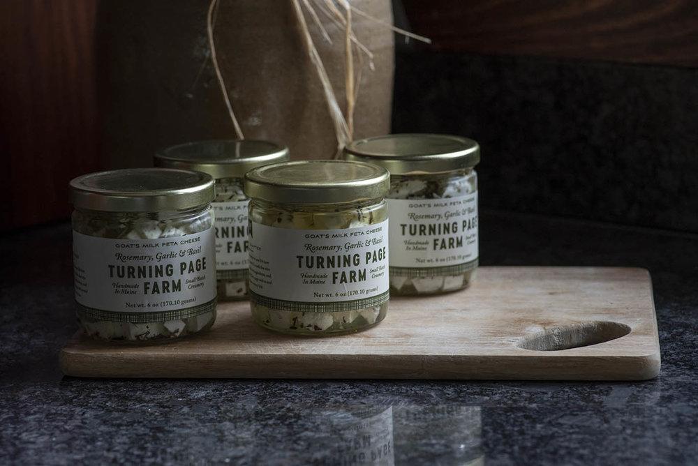 Feta- Rosemary, Garlic and Basil