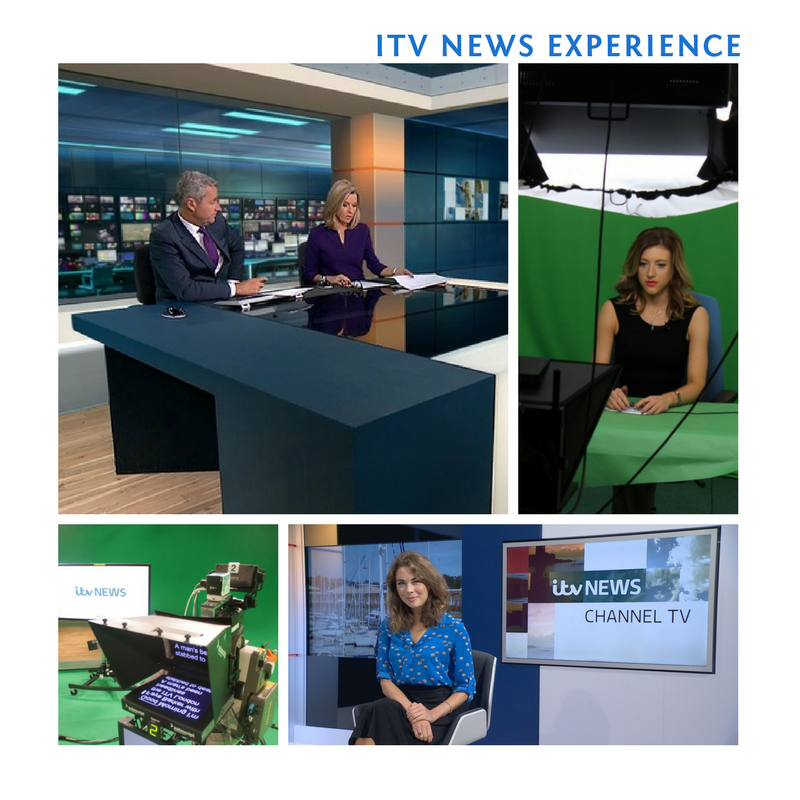 A Tour for 4 people of the iconic ITV Newsroom