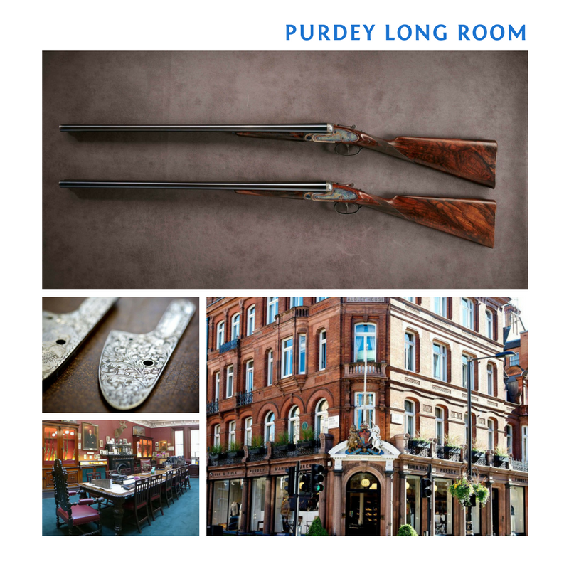 Purdey's Long Room visit for 2 and Book