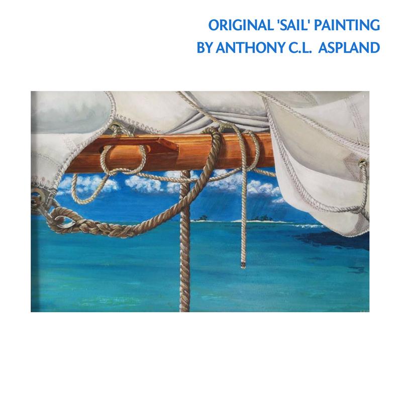 Original Acrylic 'Sail' Painting