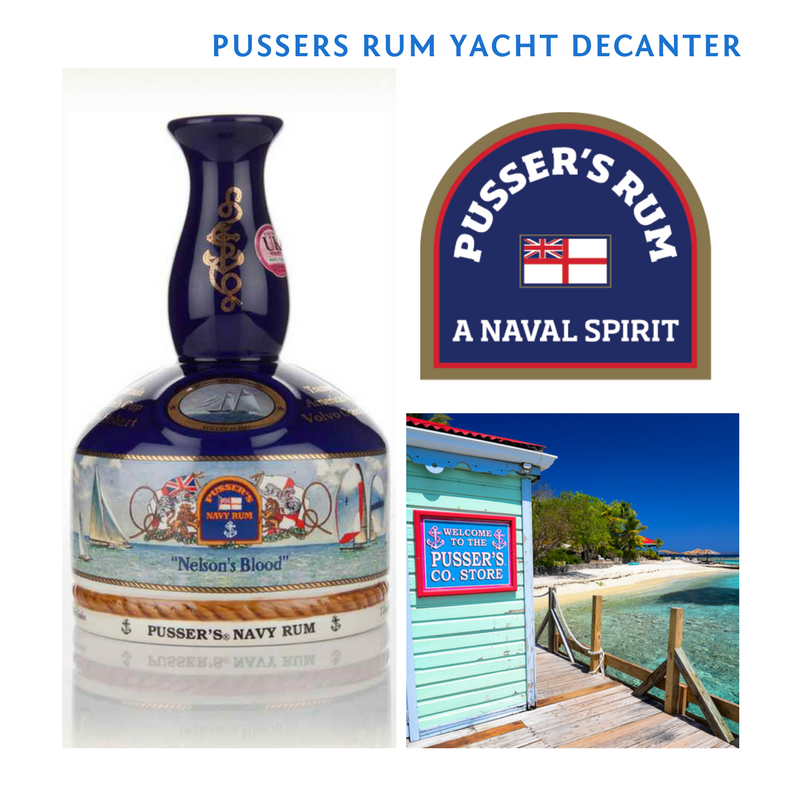 1 Pussers Navy Rum Yacht Decanter