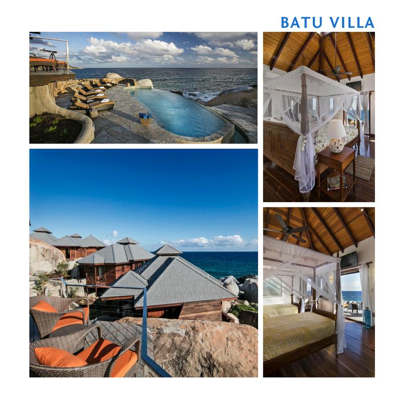 1 Week stay at Batu Villa, Virgin Gorda for 4