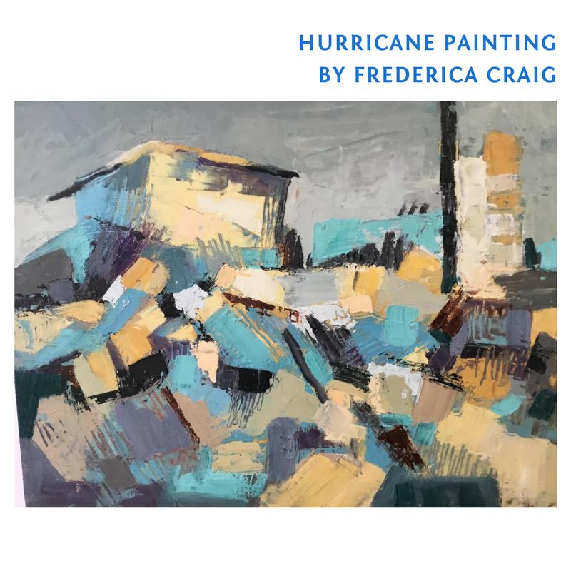Hurricane Painting - Original