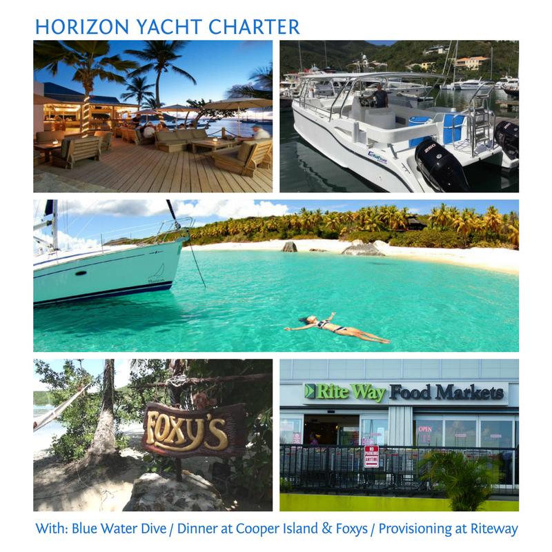 1 Week Horizon Bareboat Charter plus lots more...