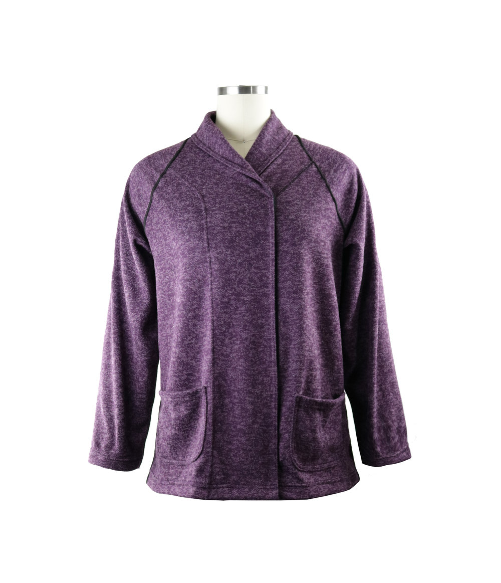 Alium Adaptive Wrap Sweater