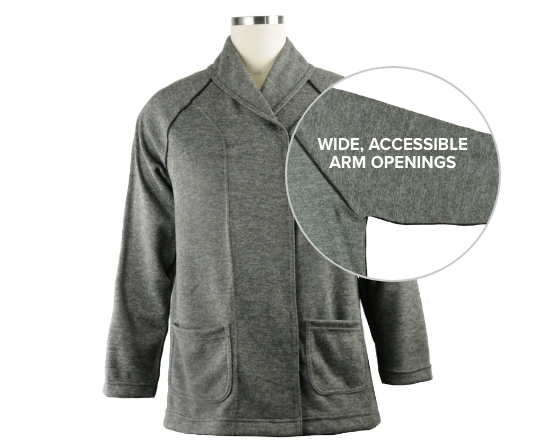 Adaptive Clothing Sweater