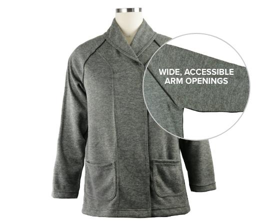Adaptive Clothing Sweater