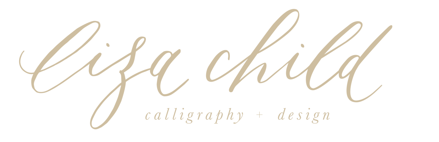 Liza Child | Calligraphy & Design