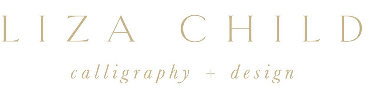 Liza Child Calligraphy & Design