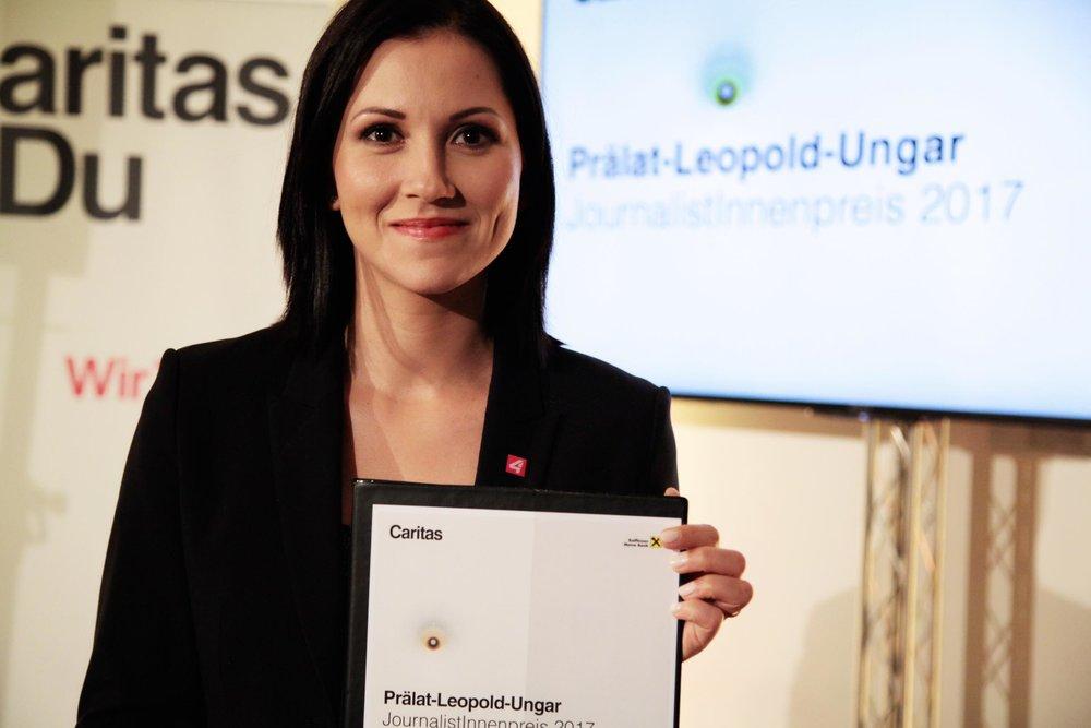 Prälat-Ungar-JournalistInnenpreis 2017 © Philipp Tirmann