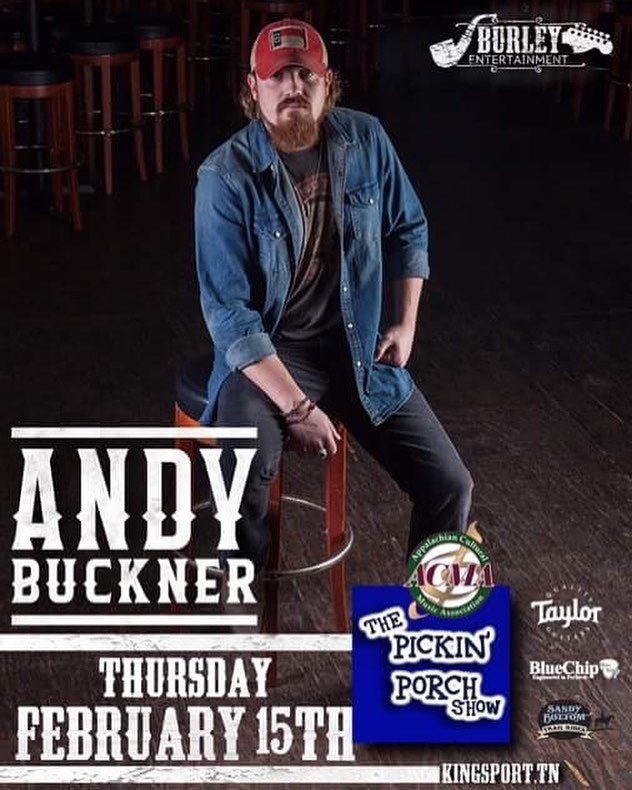 I will be playing at the @pickinporch Thursday, February 15th in Kingsport, TN 7pm, be there...🎶 • • • • #AndyBuckner #MyKindaPeople #PickinPorch #Kingsport #Tennessee #CountryMusic