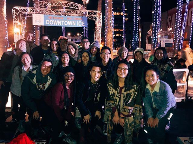 NRHH family outing! #HappyHolidays ☃️