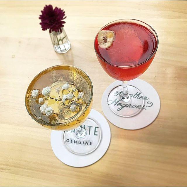Busy week? We've got the cure. #aperitivohour everyday from 4-7 @danteatgenuine 🍹 . . 📷: @karachrome #littleitaly #eeeeeats #draaaaanks #cocktails #cocktailbar #bar #happyhour #nyc #newyorkcity #thirsty #fwx #foodandwine