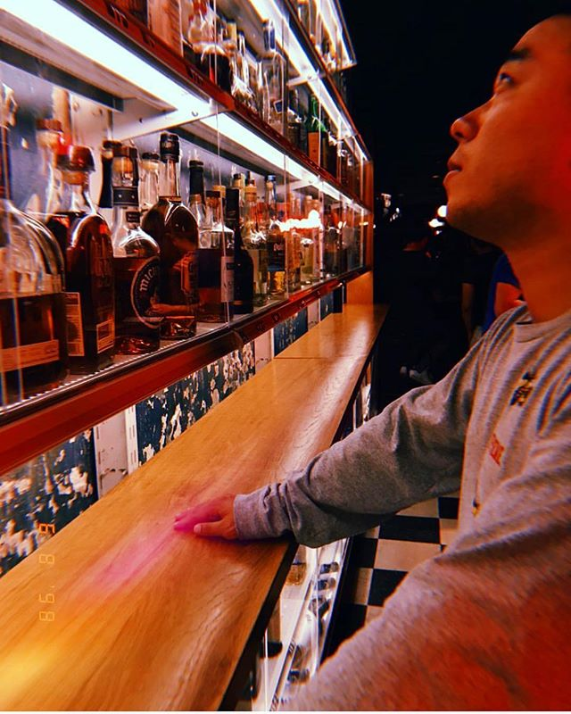 The indecisive beware. . . 📷: @nerdyxnature #genuineliquorette #bar #basementbar #nyc #draaaaanks #thirsty #cocktails #cocktailbar #fanfare #littleitaly #nyc #newyork #discovernewyork