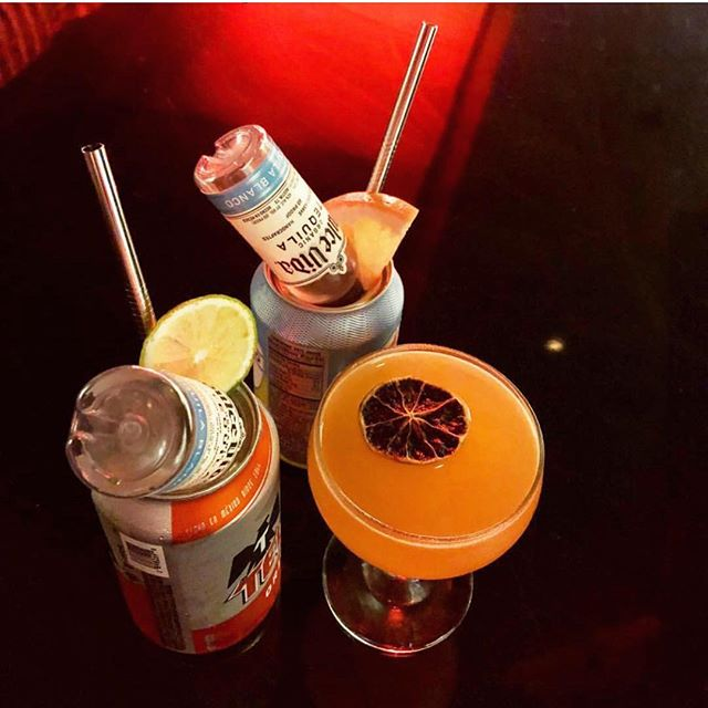 No tricks. Just treats. 🎃👻🍹 . . 📷: @valerievardaro #liquorette #genuineliquorette #chachunker #drinks #draaaaanks #cocktials #cocktailbar #bar #nycbars #thirsty #fwx #happyhour #littleitaly #nyc #newyorkcity