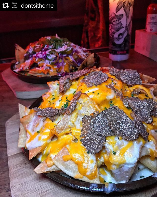 Double up on #nachos...we won't judge 🤫🎉
