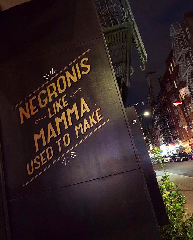 Next stop, negroni town. . . 📷: @negroniqueen #dantovesyou #negroni #aperitivo #aperitivohour #happyhour #friday #fridaynight #nyc #newyork #littleitaly #cocktailbar #bar #foodandwine #eeeeeats #draaaaanks #thisty #thirst