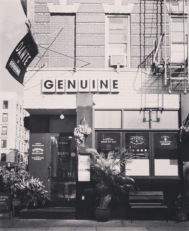 Dante at Genuine has been an incredible, creative partnership with AvroKO, and it was a pleasure to bring the Dante experience to the heart of Little Italy.  The pop ran for an incredible 18 months! We are now excited to shift the focus of the Dante family to new projects that are coming up in 2019, which we can't wait to share with you in the coming months. Thank you to all that have visited us in Little Italy. We look forward to seeing you again on Macdougal street! Our last day of the pop up on Grand street will be Saturday, December 22nd. 🙏🏼😍✨